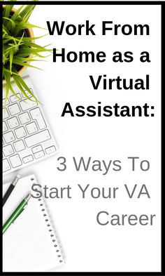 Virtual Assistant Jobs Online : 3 Ways You Can Start Your VA Career Marketing Program, Marketing Jobs, Affiliate Marketing, Content Marketing, Online Jobs From Home, Work From Home Jobs, Transcription Jobs For Beginners, Virtual Assistant Services, Online Entrepreneur