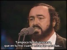 "Nessun Dorma by Pavarotti.  The greatest tenor of all time.  His voice had the most ""color"" of any."