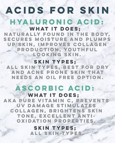 PART2/ Add one of these acids to your skincare routine, you wont regret it…