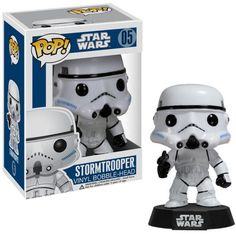 Star Wars Stormtrooper Pop! Vinyl Figure Bobble Head $10