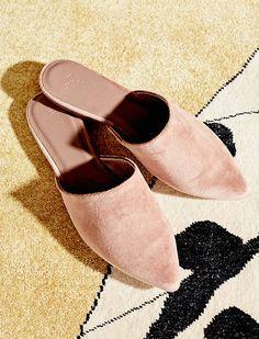 Sunday Girl Ramya Giangola's shoe pick: The Joie Adiel Velvet Slides