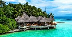 Maldives is one of the most stunning diving spots on earth.Most maldives luxury resorts can arrange scuba diving expeditions for guests. Maldives Vacation Packages, Best Resorts In Maldives, Maldives Villas, Maldives Resort, Honeymoon Getaways, Honeymoon Hotels, Holiday Destinations, Vacation Destinations, Underwater Restaurant
