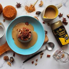 Here's something to satisfy your sweet tooth this Christmas... Sticky Coconut Caramel Date Puddings! Sumptuously rich and flavoursome, and the essence of Christmas with its subtle spice blend... 🍮 Head to our Blog Post for the full recipe!👇 www.thecoconutcompany.co/blogarchive/2020/11/11/sticky-coconut-caramel-date-puddings Coconut Nectar Recipes, Coconut Sugar, Date Pudding, Sticky Toffee Pudding, Spice Blends, Puddings, Tray Bakes, Yummy Treats, Caramel