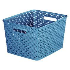 RE Yweave Set of 4 Large Storage Baskets