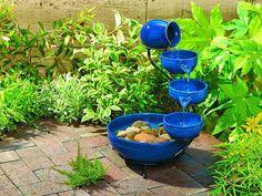 How To Create A Blue Flower Garden | outdoortheme.com