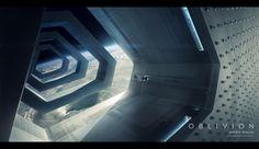 Oblivion concept art: Tet outer chamber   Andrée Wallin