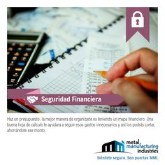 Si sigues el tip de #SeguridadFinanciera de hoy te organizarás mejor en tu economía.