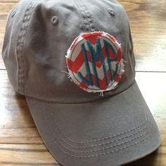 Great Monogrammed Hat:)