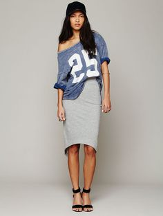 Free People Overlapped Pencil Skirt, $29.95... Ordered this one as well... Can't wait !!!