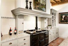 My ultimate kitchen dream, an AGA stove! Kitchen Inspirations, Home Decor Kitchen, Dream Kitchen, Vintage Kitchen, Kitchen Decor, Aga Stove, Home Kitchens, Cottage Kitchens, Smart Kitchen
