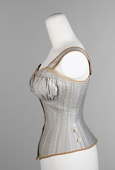 The Metropolitan Museum of Art - Cotton corset, side view 1890