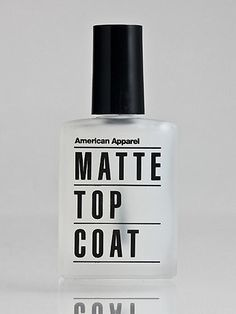 American Apparel - Matte Top Coat Nail Polish