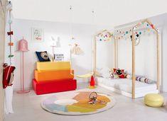 cama infantil forma casita de Lil'Gaea
