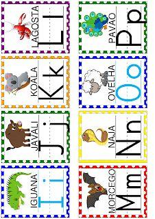 Alfabetizar com AMOR: MATERIAL EM PDF - MAIS DE 100 PÁGINAS EM ATIVIDADES PARA ALFABETIZAÇÃO English Worksheets For Kids, Literacy, Activities For Kids, Alphabet, Crochet Patterns, Banner, Classroom, Letters, Cards