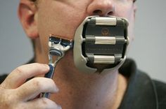 Goatee Saver shaving guide  Is this legit? Or just a way to look like Bain?