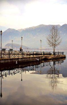 GREECE CHANNEL | Lake Pamvotida, Ioannina, Epirus, Greece (by PattyK. on Flickr)