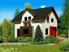 Trei case cu mansarda. Locuinte de vis pentru tineri - Case practice