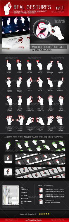 Real Gestures
