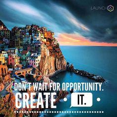 If opportunity doesn't knock build a door. #MiltonBerle  @destination.places #manarola #italy #travelitaly #carpedium #putinthework  Go follow @carszene for some visual motivation