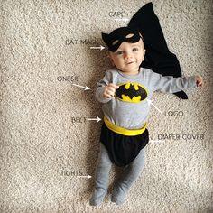 Diy Batman Costume 1