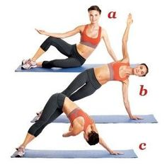 8 Pilates Exercises for a Tight Tummy. *get a pilates ball! Pilates Training, Yoga Pilates, Pilates Workout, Oblique Workout, Pilates Moves, Ab Moves, Yoga Moves, Fitness Workouts, Fitness Diet