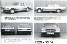 OG | 1974 Mercedes-Benz SL - R129 | Prototype