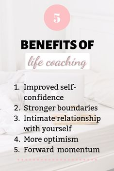 3 Awesome Benefits of Life Coaching: Your Best Investment | Blush