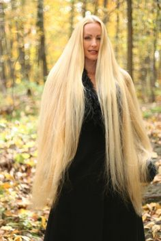 #Hairstyles for Super-Long Hair, Think Rapunzel ...
