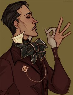 """focsle: """"Dishonored 2′s already doin well in the dandy department. """""""