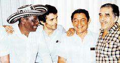 Alejo, Gustavo, Rafa y Gabo...