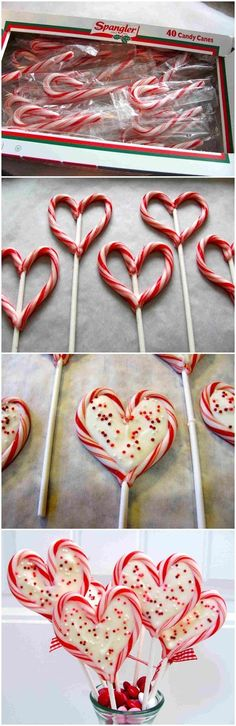 Super ideas for holiday baking treats candy canes Christmas Goodies, Diy Christmas Ornaments, Christmas Candy, Christmas Desserts, Holiday Treats, Christmas Treats, Holiday Fun, Christmas Holidays, Christmas Christmas