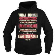 Basketball Player Job Title - What I do