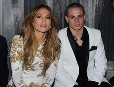 Jennifer Lopez and Casper Smart in Las Vegas