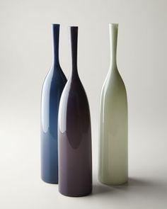 """Angelic"" Bottles by Joe Cariati Glass at Horchow.#onekingslane #designisneverdone"