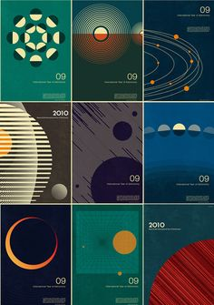 Astronomy poster prints / illustrations by Simon C Page. Astronomy poster prints / illustrations by Simon C Cv Inspiration, Graphic Design Inspiration, Graphisches Design, Game Design, Swiss Design, Graphic Illustration, Graphic Art, Typography Design, Lettering