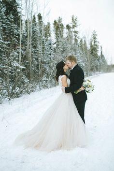 Sugar & Soul Photography - Snowy Winter Wedding