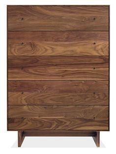benson 5 drawer dresser natural oak west elm home small rh pinterest com