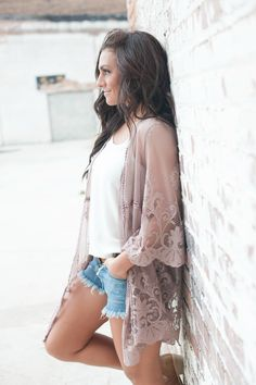 || Feel Alive Button Down Distressed Denim Shorts ||