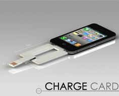 Le chargeur iPhone ranger dans le portefeuille vous ne serez plus jamais embêté ;)