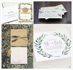 decoration mariage provence cadeaux invités calisson herbes de provence faire part branche olivier