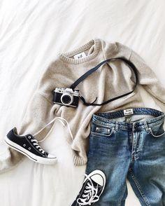 3e723417bfac Consulta esta foto de Instagram de  andicsinger • 3,835 Me gusta Одежда  Converse, Кэжуал