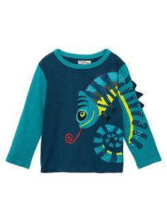 LUBITY B/éB/é T-Shirt /à Manches Courtes /à Imprim/é Dinosaure pour Gar/çon Haut Et Imprim/é Lettres de Dinosaures pour Enfants T-Shirt Grande Taille Col Rond Pas Cher Shirt