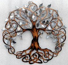Unique Wedding Gift Tree Of Life Infinity Wall Decor Art
