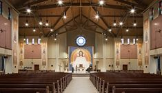 8 best catholic church interiors images modern church cathedrals rh pinterest com
