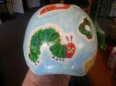 Artist transforms baby helmets into extraordinary art   BabyCenter Blog