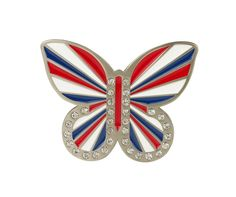 Motýl ''union jack''