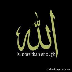More than enough.