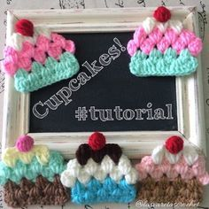 Free Pattern: Crochet Granny Cupcake                                                                                                                                                                                 More