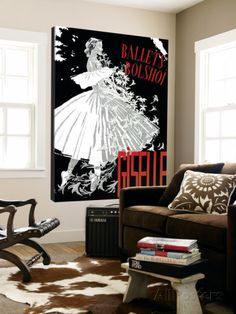 Ballets Bolshoï Print - at AllPosters.com.au