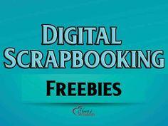 Digital Scrapbook & Project Life Freebies #Free printable free downloads